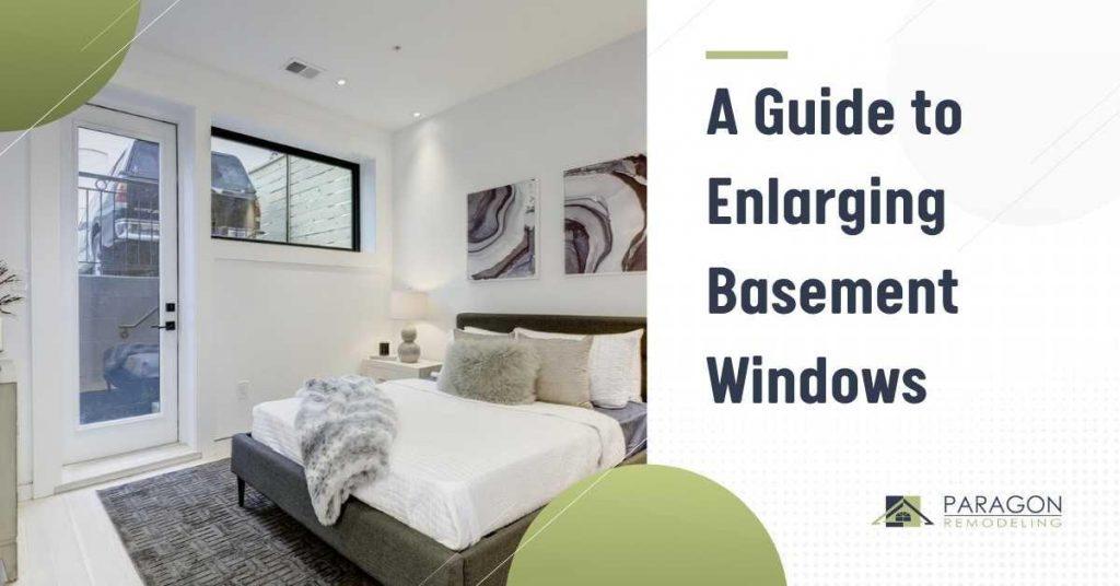 A Guide to Enlarging Basement Windows