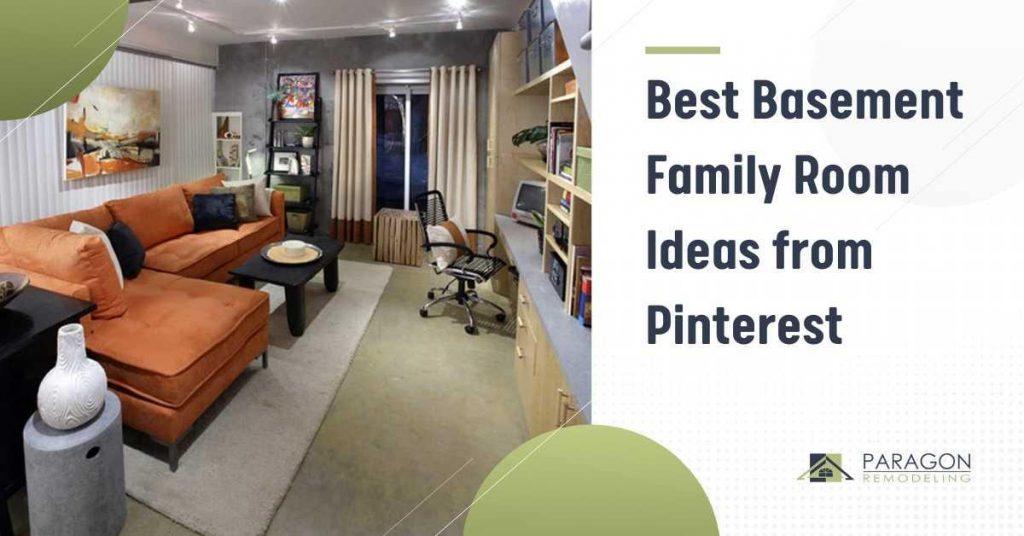 Best Basement Family Room Ideas from Pinterest