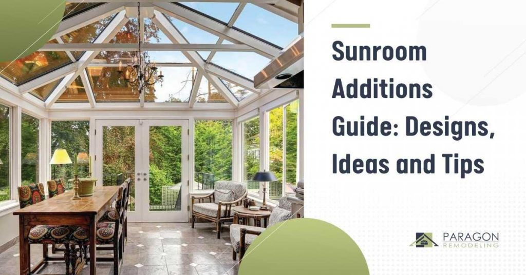 Sunroom Additions Guide Designs, Ideas, and Tips