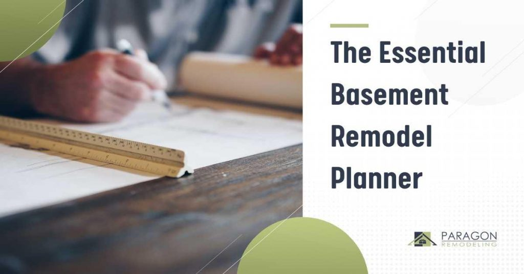 The Essential Basement Remodel Planner