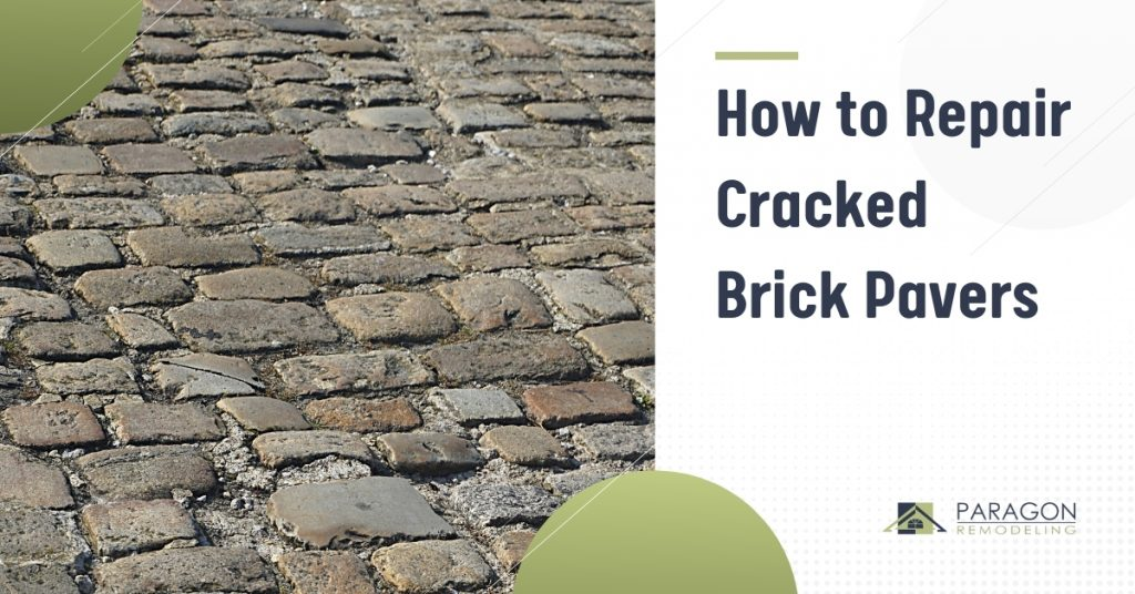 How to Repair Cracked Brick Pavers