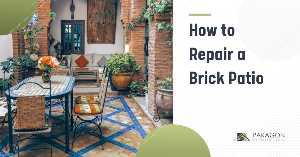 How to Repair a Brick Patio in 3 Steps
